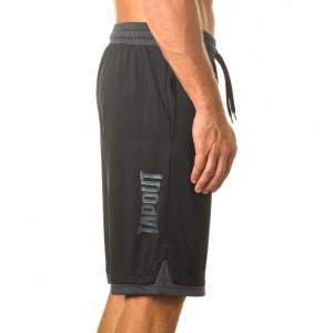 """Tapout """"War Room"""" Black Heather Shorts"""