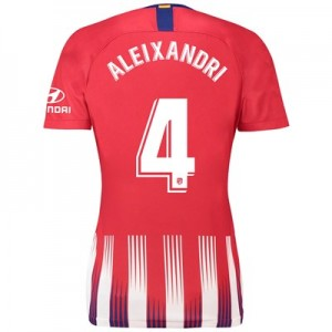 Atlético de Madrid Home Stadium Shirt 2018-19 - Womens with Aleixandri 4 printing