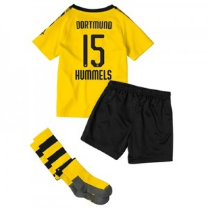 BVB Home Mini Kit 2019-20 with Hummels 15 printing