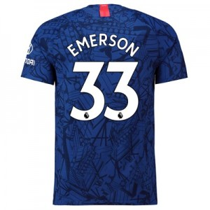 Chelsea Home Vapor Match Shirt 2019-20 with Emerson 33 printing