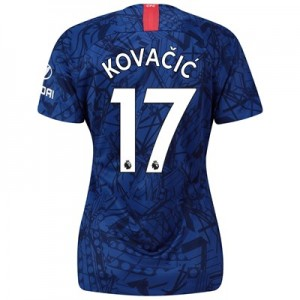 Chelsea Home Stadium Shirt 2019-20 - Womens with Kovacic  17 printing