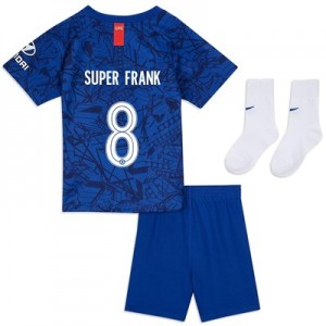 Chelsea Home Cup Stadium Kit 2019-20 - Infants with Super Frank 8 printing