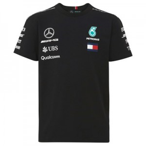 Mercedes AMG Petronas 2018 Team T-Shirt - Black - Kids