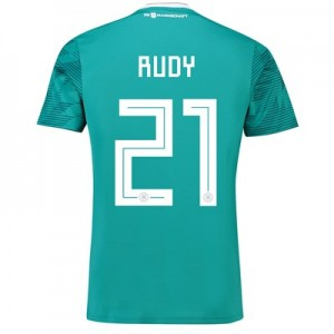 Germany Away Shirt 2018 with Rudy 21 printing