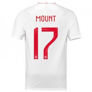 England Home Stadium Shirt 2018 with Mount 17 printing