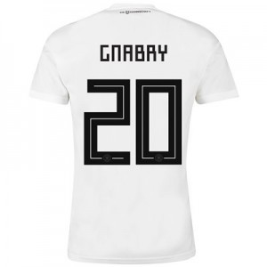 Germany Home Shirt 2018 with Gnabry 20 printing