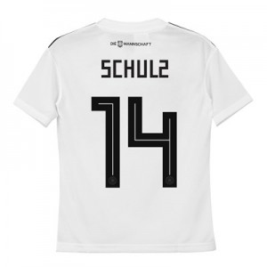 Germany Home Shirt 2018 - Kids with Schulz 14 printing