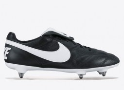 Nike Premier II Soft Ground Football Boots - Black/White/Black