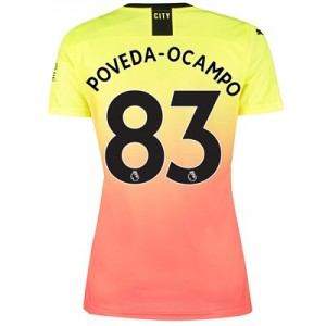 Manchester City Third Shirt 2019-20 - Womens with Poveda-Ocampo 83 printing
