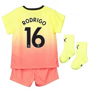 Manchester City Third Baby Kit 2019-20 with Rodrigo 16 printing