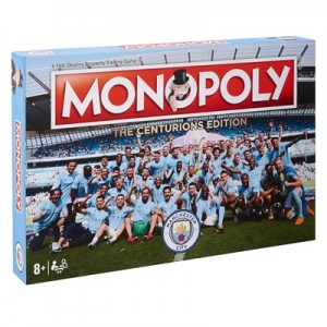 Manchester City Champions 2017-18 Monopoly  The Centurions Edition
