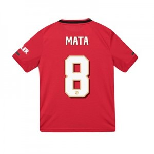Manchester United Cup Home Shirt 2019 - 20 - Kids with Mata 8 printing