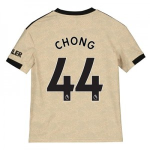 Manchester United Away Shirt 2019 - 20 - Kids with Chong 44 printing