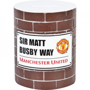 Manchester United Brick Wall Money Bank