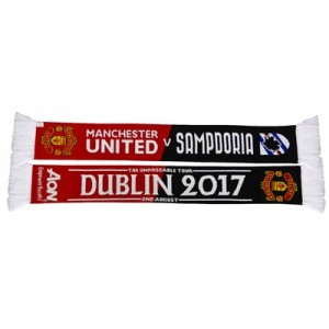 Manchester United Match Up Scarf - Red/Black - Adult