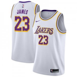 Nike Los Angeles Lakers Nike Association Swingman Jersey - LeBron James - Mens Los Angeles Lakers Nike Association Swingman Jersey - LeBron James - Mens