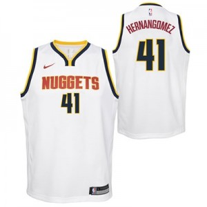 Nike Denver Nuggets Nike Association Swingman Jersey - Juan Hernangomez - Youth Denver Nuggets Nike Association Swingman Jersey - Juan Hernangomez - Youth