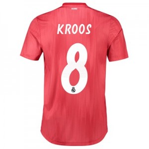 Real Madrid Third Authentic Shirt 2018-19 with Kroos 8 printing