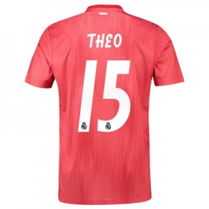 Real Madrid Third Shirt 2018-19 with Theo 15 printing